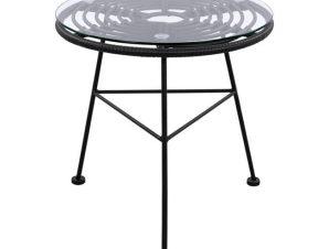 Τραπέζι Allegra Black HM5459.02